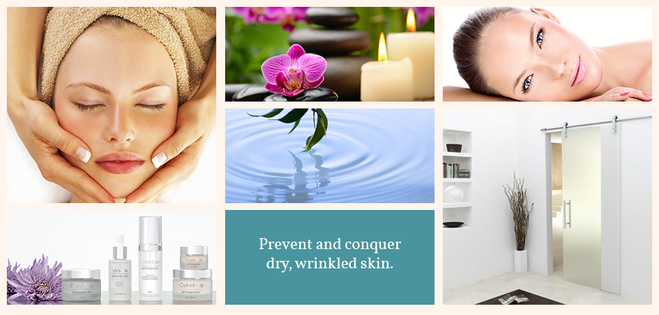 Prevent and conquer dry, wrinkled skin.